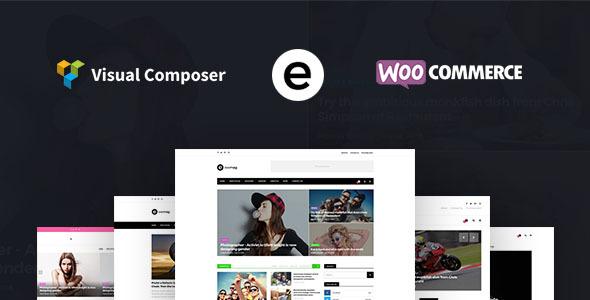 Multiconcept Blog Magazine WordPress Theme